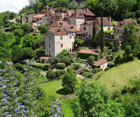 Où pique-niquer vers Saint Cirq Lapopie ? Image