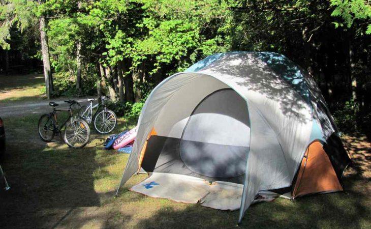 Quels campings sont ouverts au mois de septembre? Image